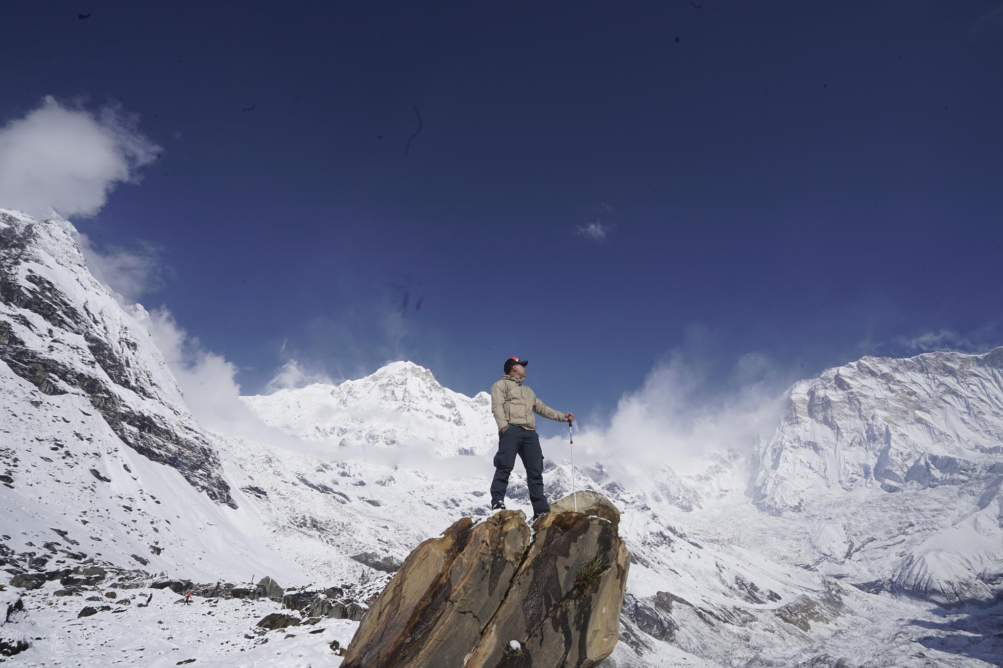 Set your foot on the heart of Annapurna Base Camp