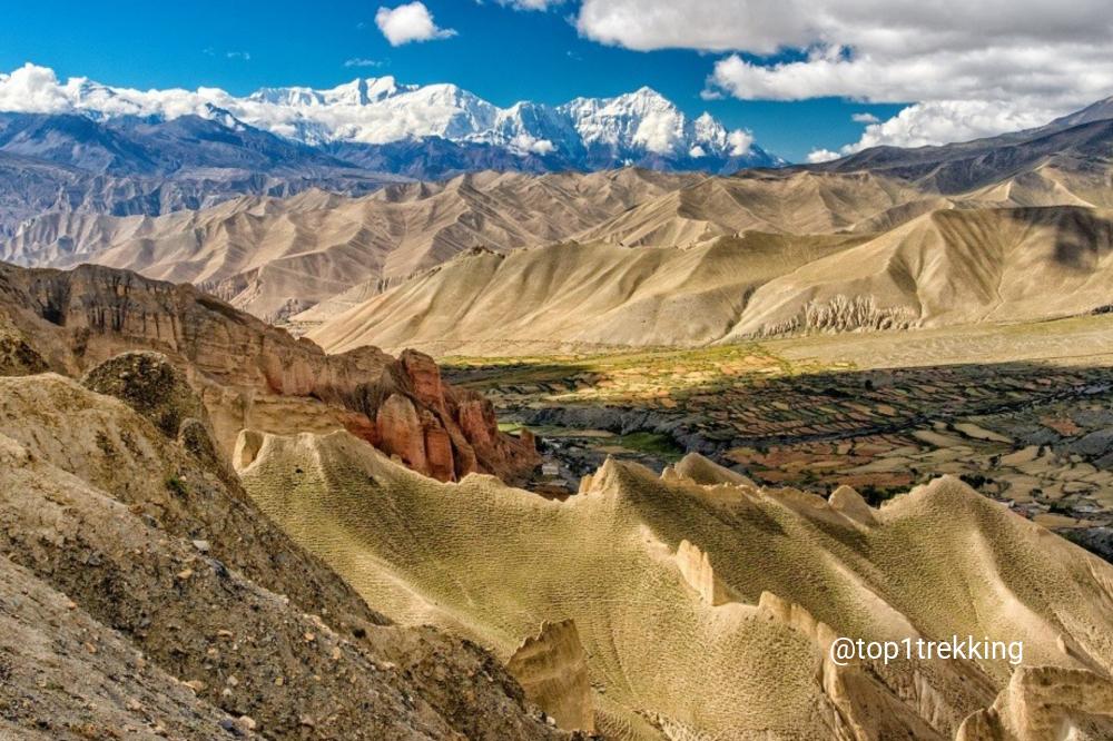 Upper Mustang - Vùng sa mạc gió cát, Grand Canyon của Nepal