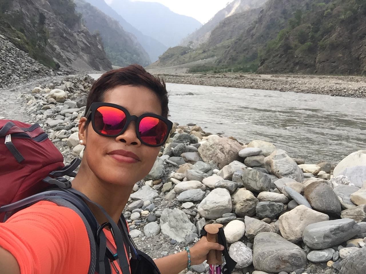 Con đường thi thoảng đi dưới lòng sông - Manaslu Circuit Trek