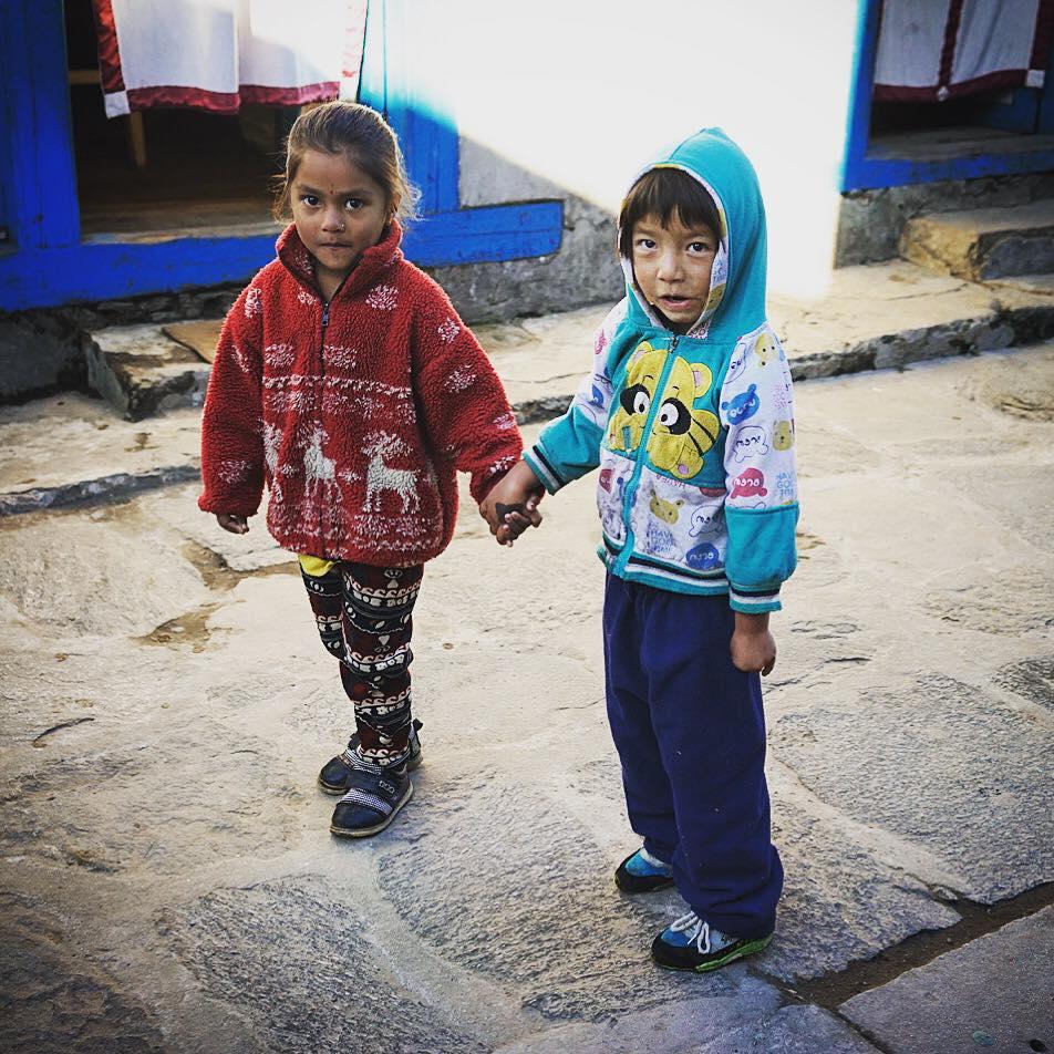 Trẻ em vùng núi Hi Mã @Tăng Nguyệt Minh