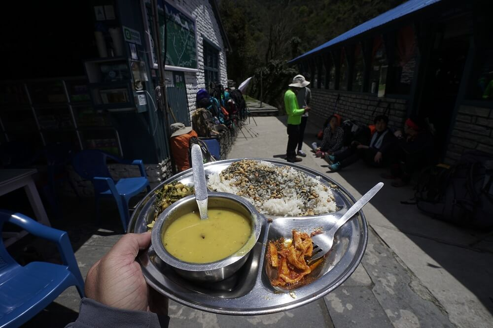 Nepali Dhal Bhat 24 hours energy