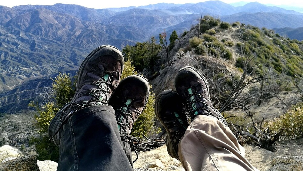 Comfortable trekking shoes is a must for week long trekking in mountain
