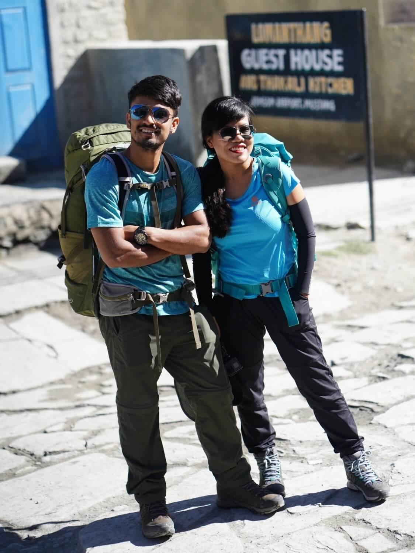 Top1Trekking team trek đến vùng Upper Mustang