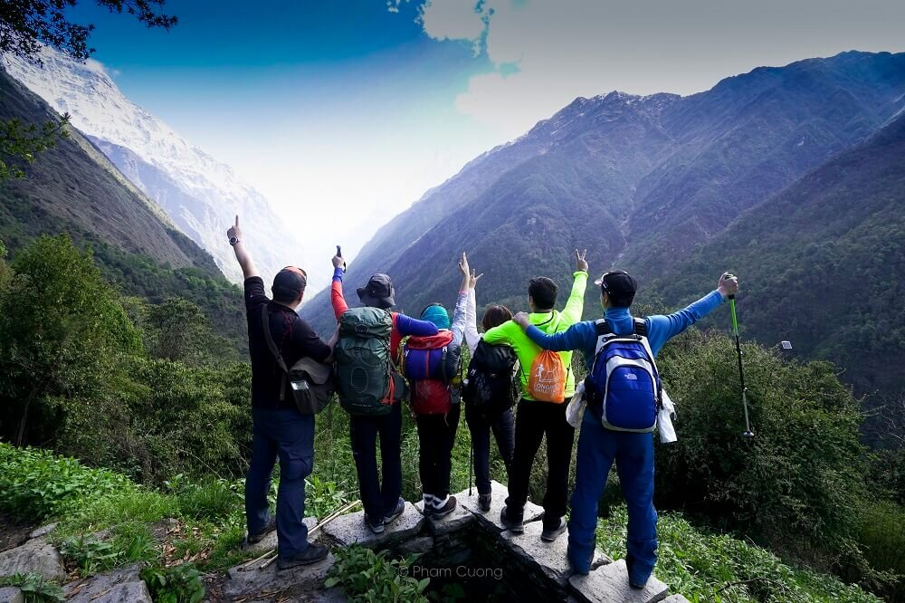 Đường vào Annapurna Sanctuary
