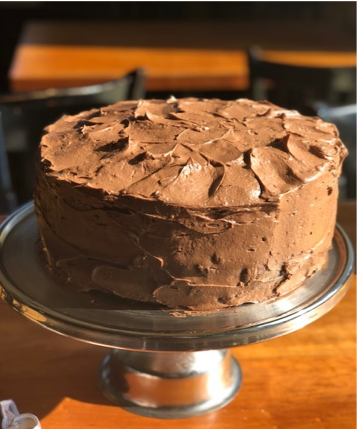 Nanny's Funeral cake