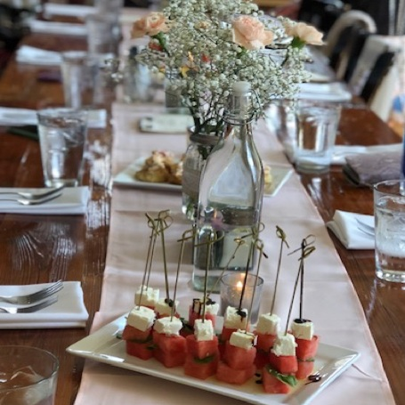 Family-Style Bridal Luncheon -