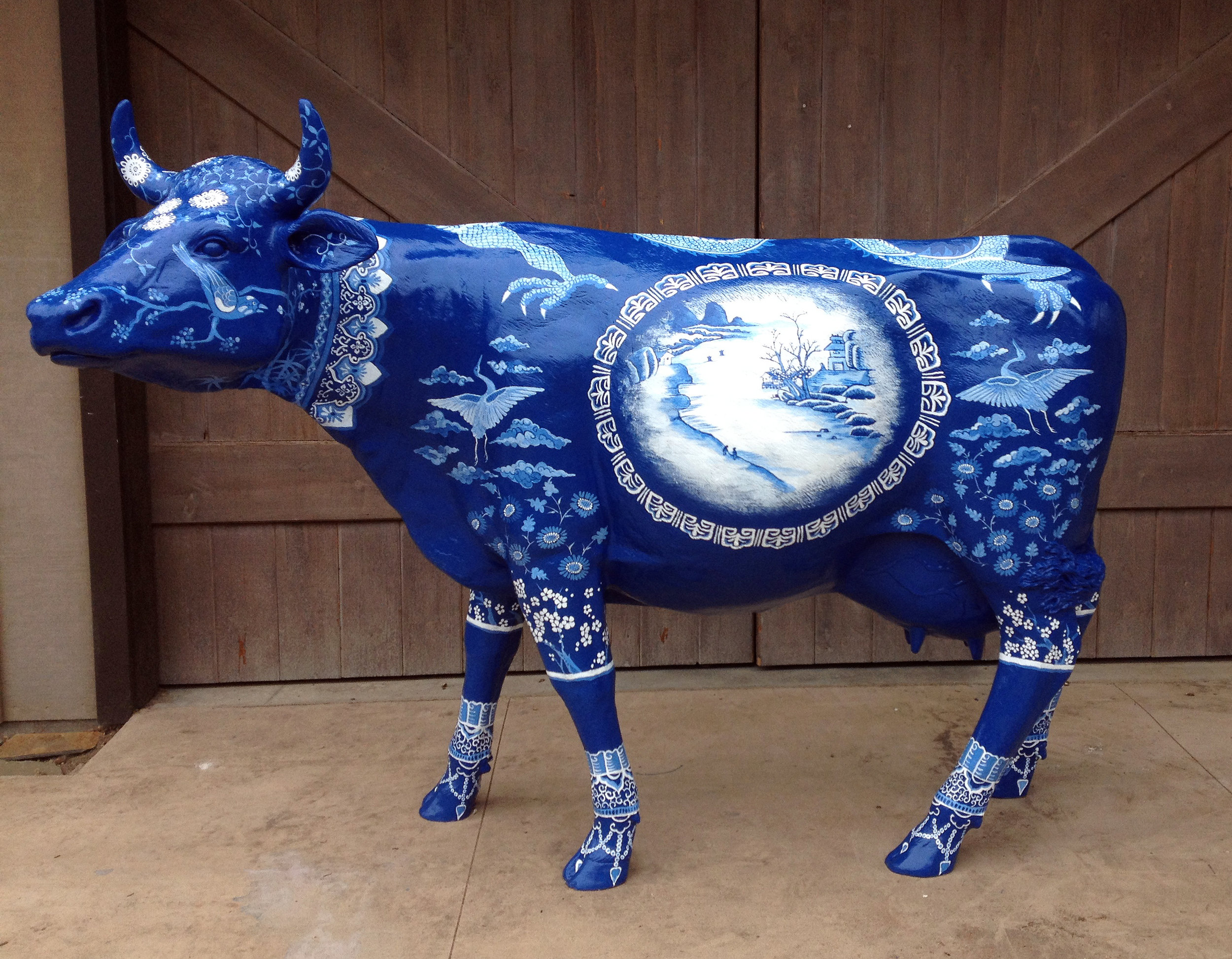 Blue Ming Cow