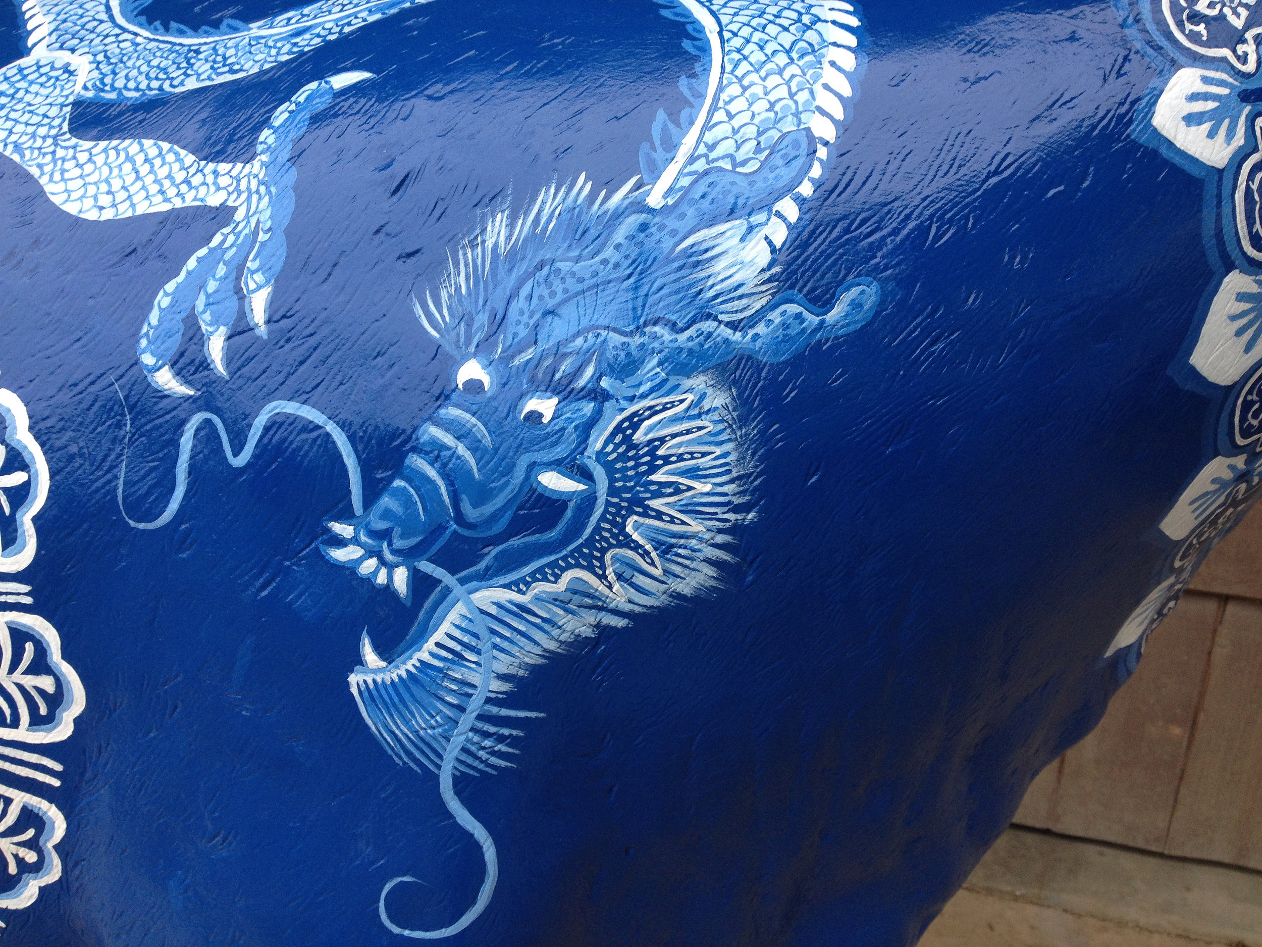 detail Blue Ming Cow