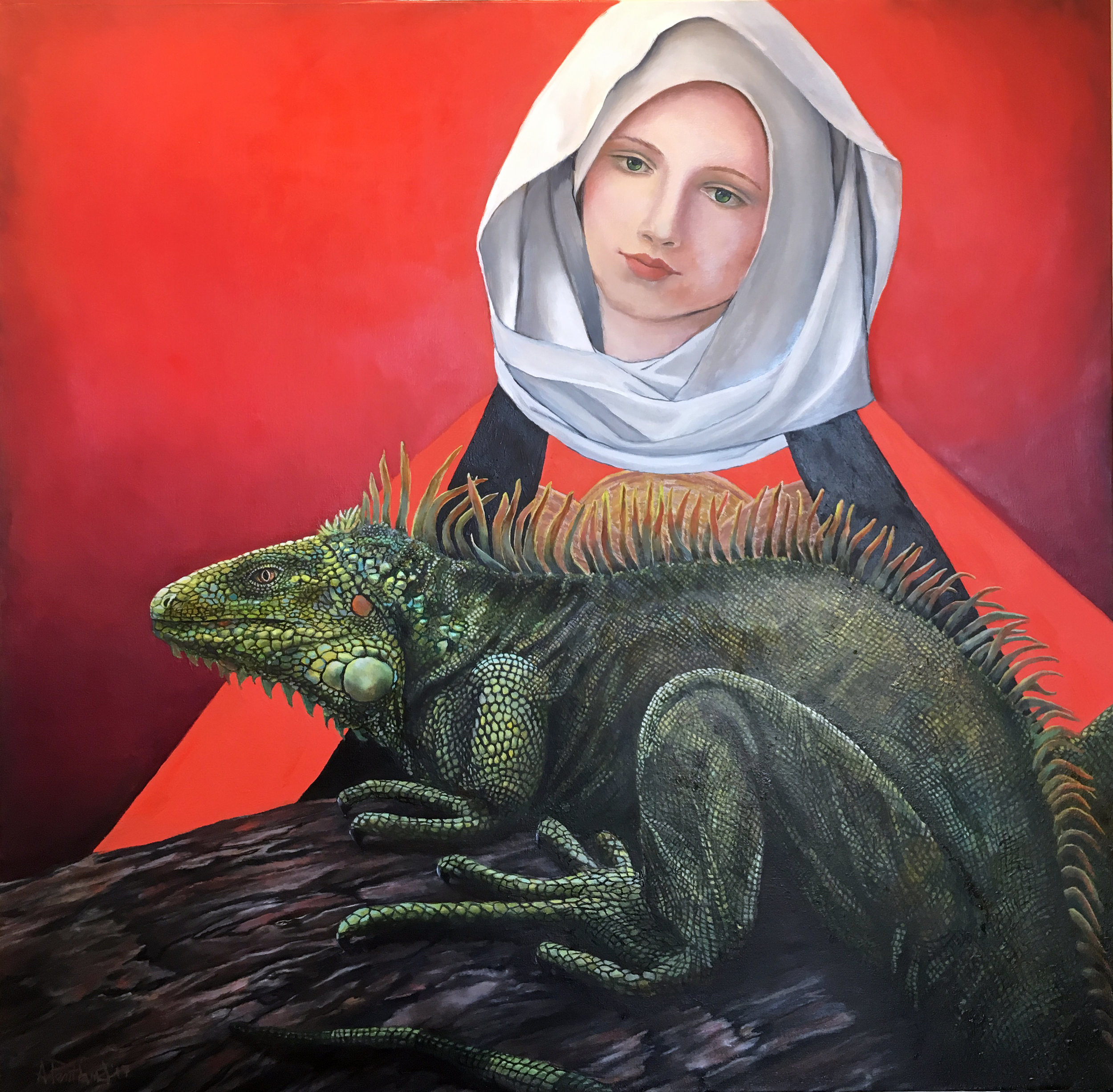 The Iguana Madonna