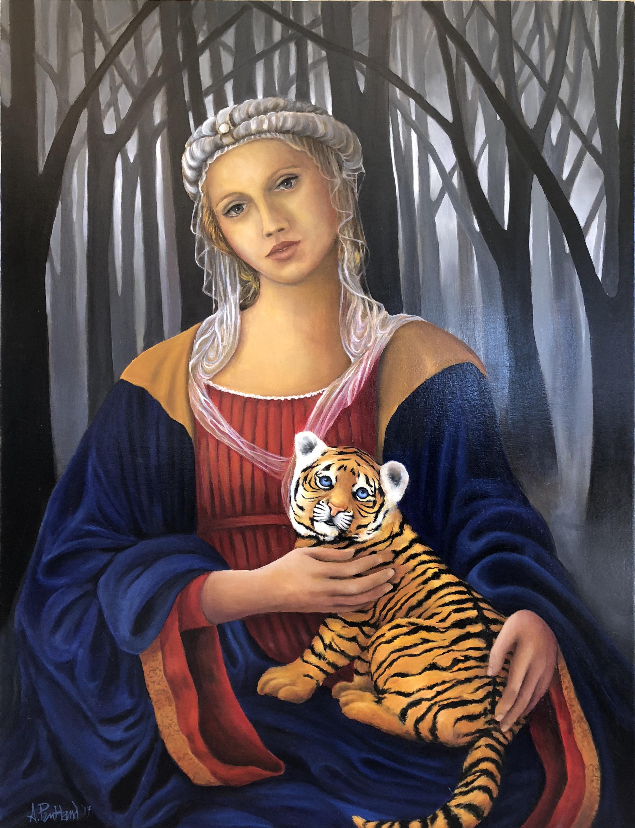 Madonna and Cub