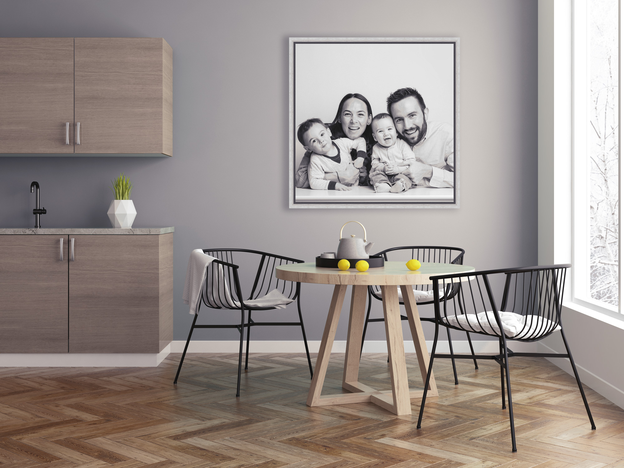 """10% off any feature wall-art - Receive 10% off the RRP of any 16""""x16"""" or larger 'feature piece' when purchased during your cinema projection."""