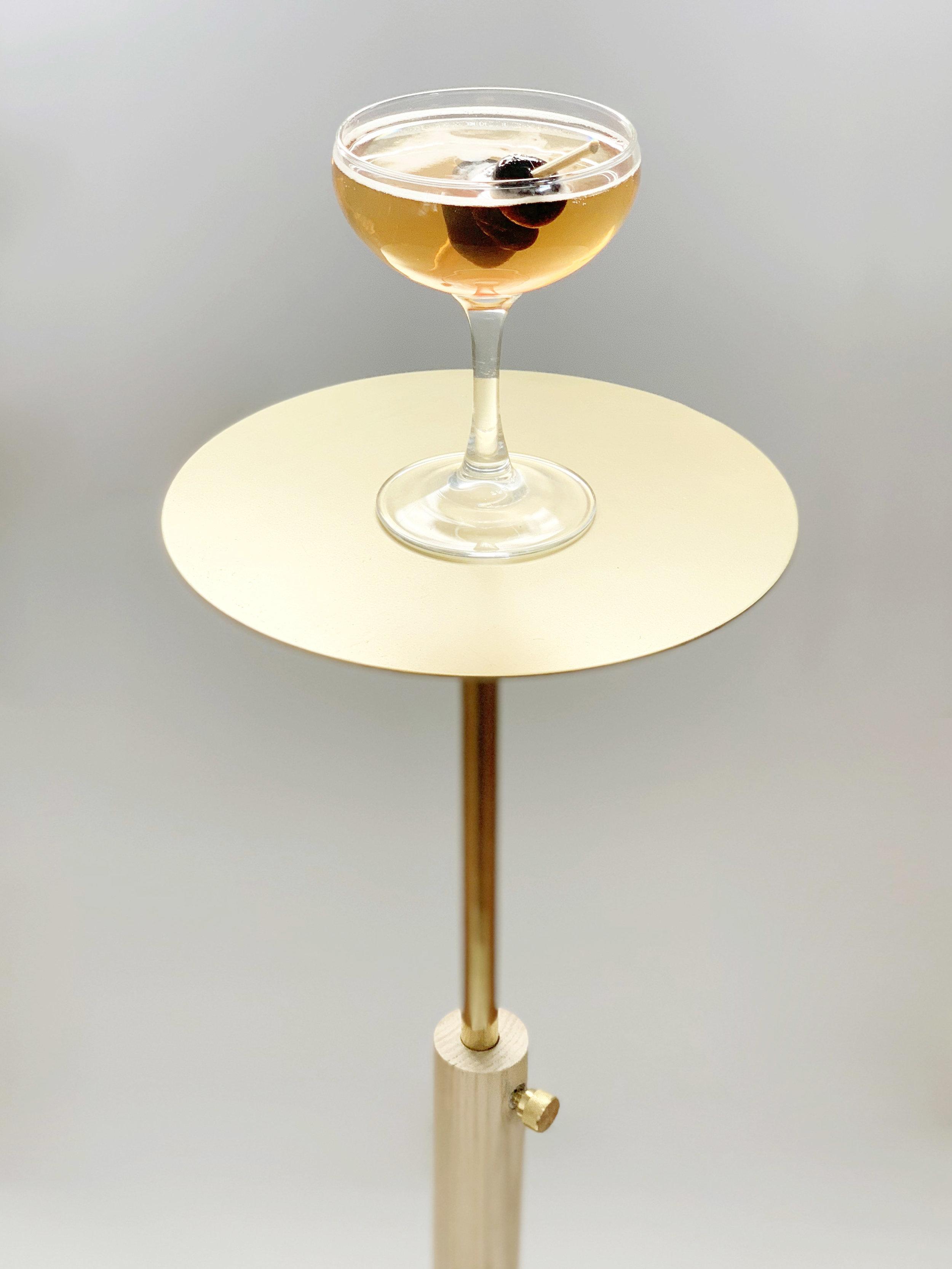 Collins Adjustable Drink Table