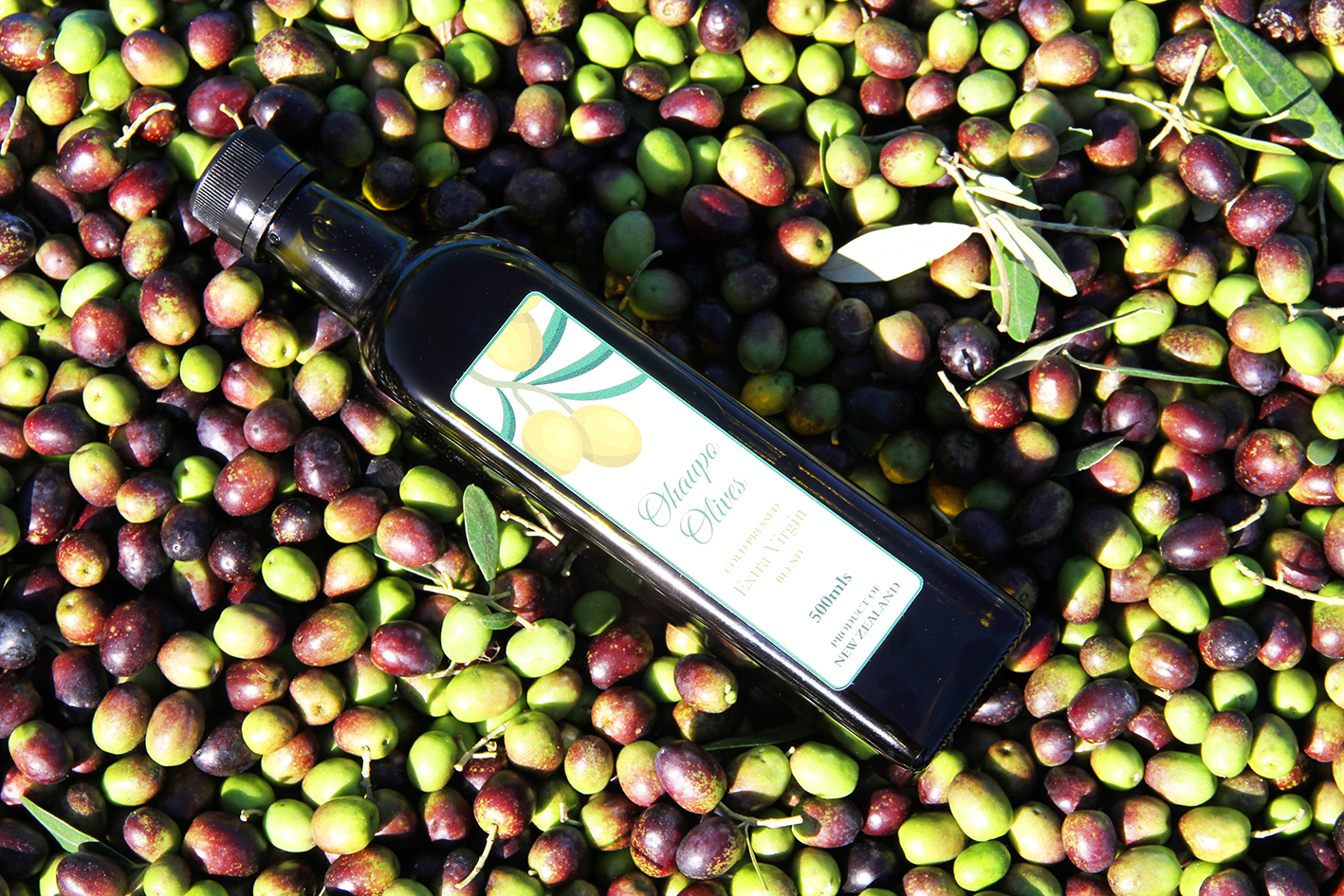 sample the extra virgin olive oil
