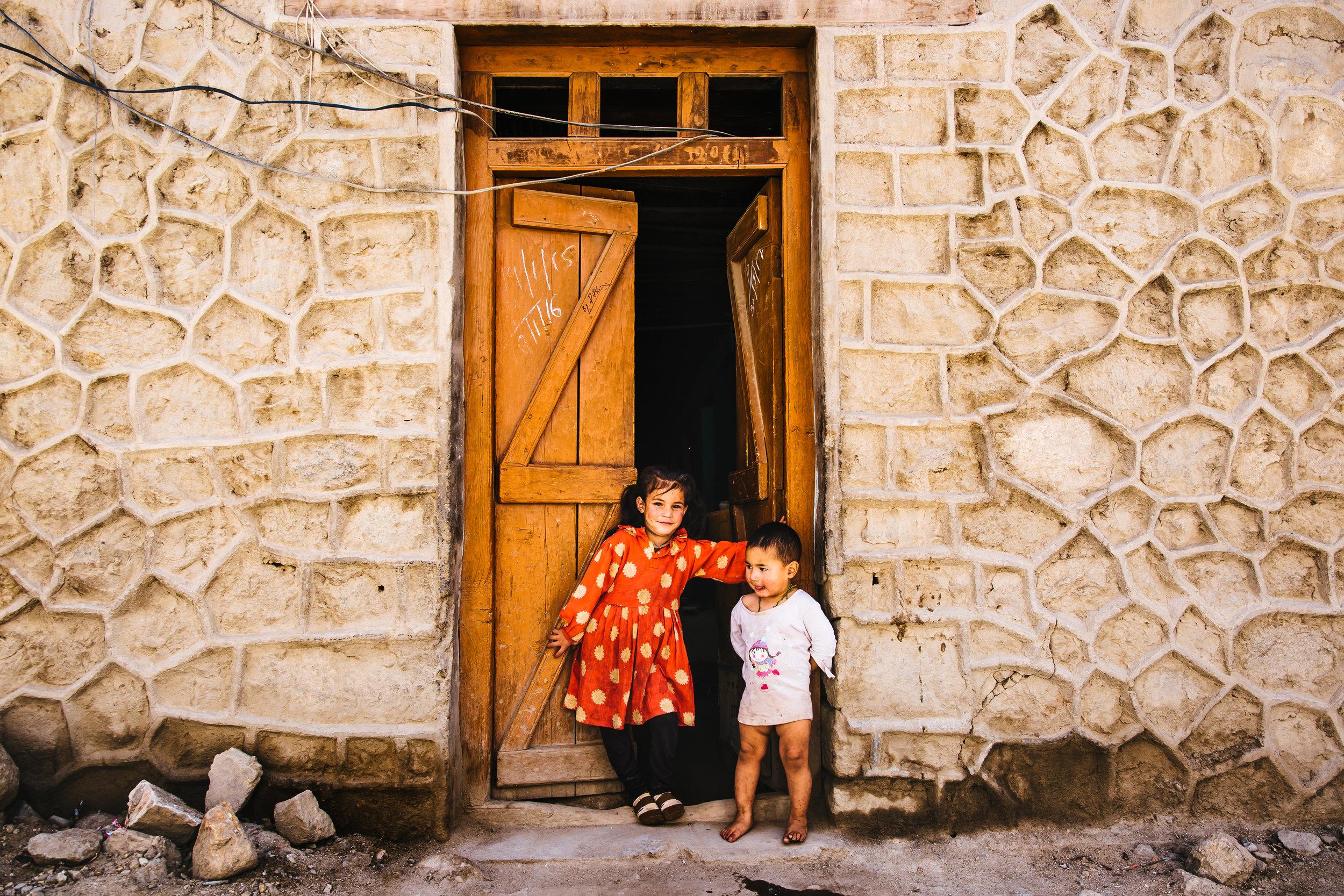 kids in  Leh