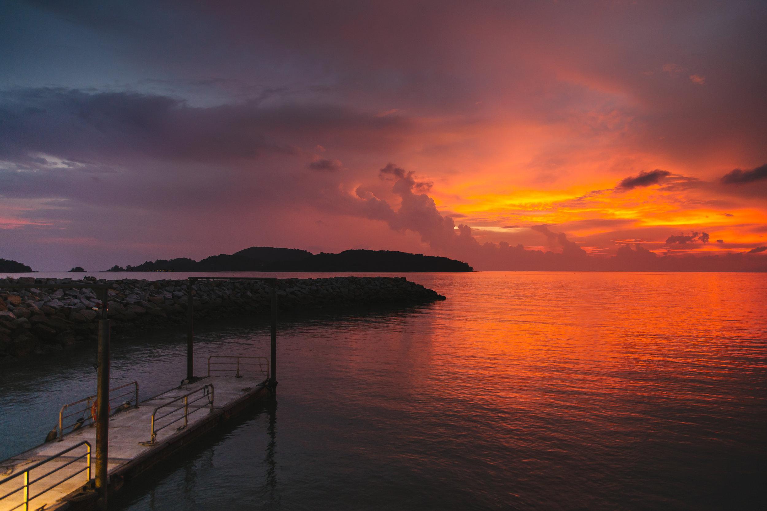 Langkawi Malaysia coast