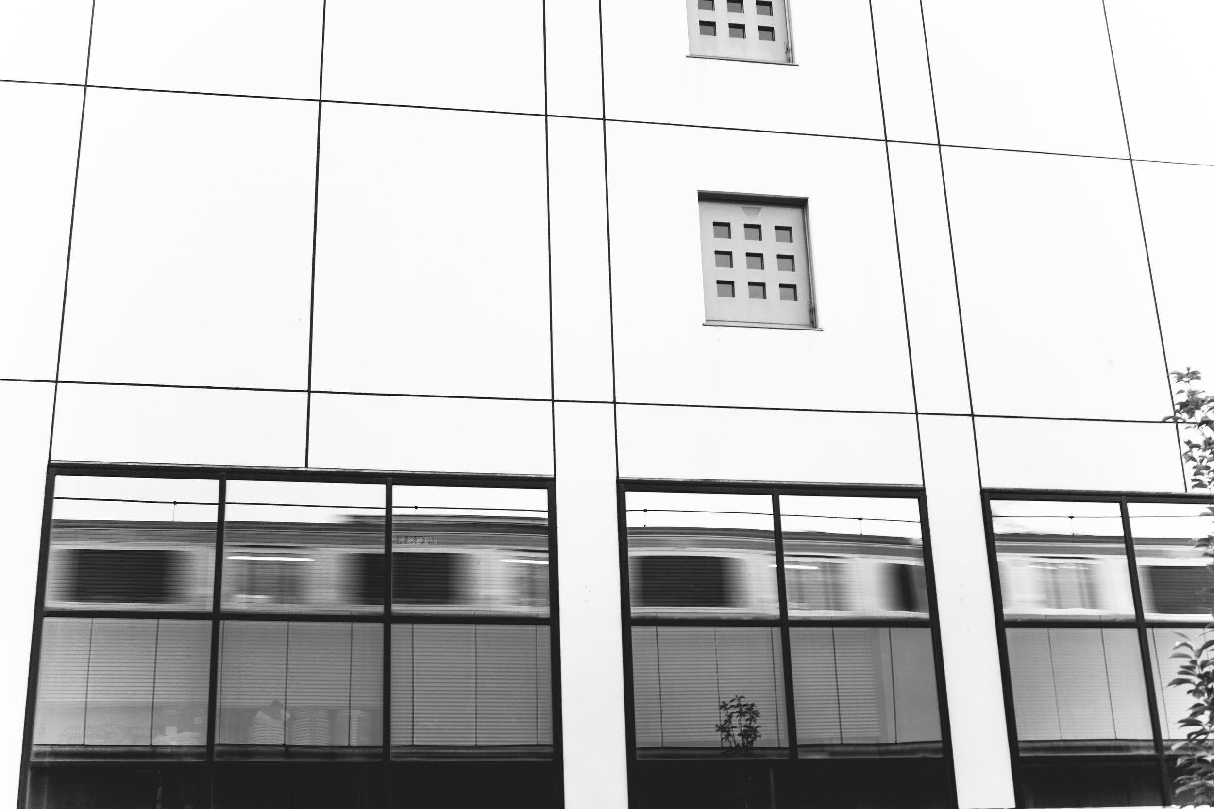 train passing in windows