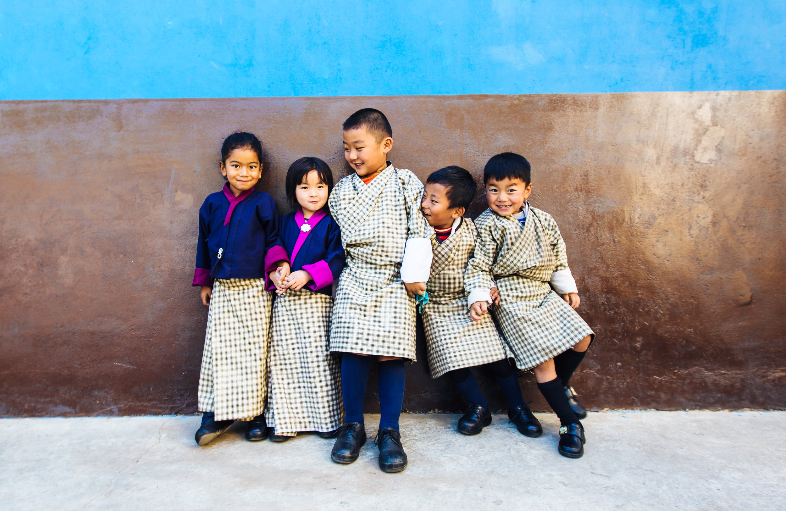 Bhutanese students