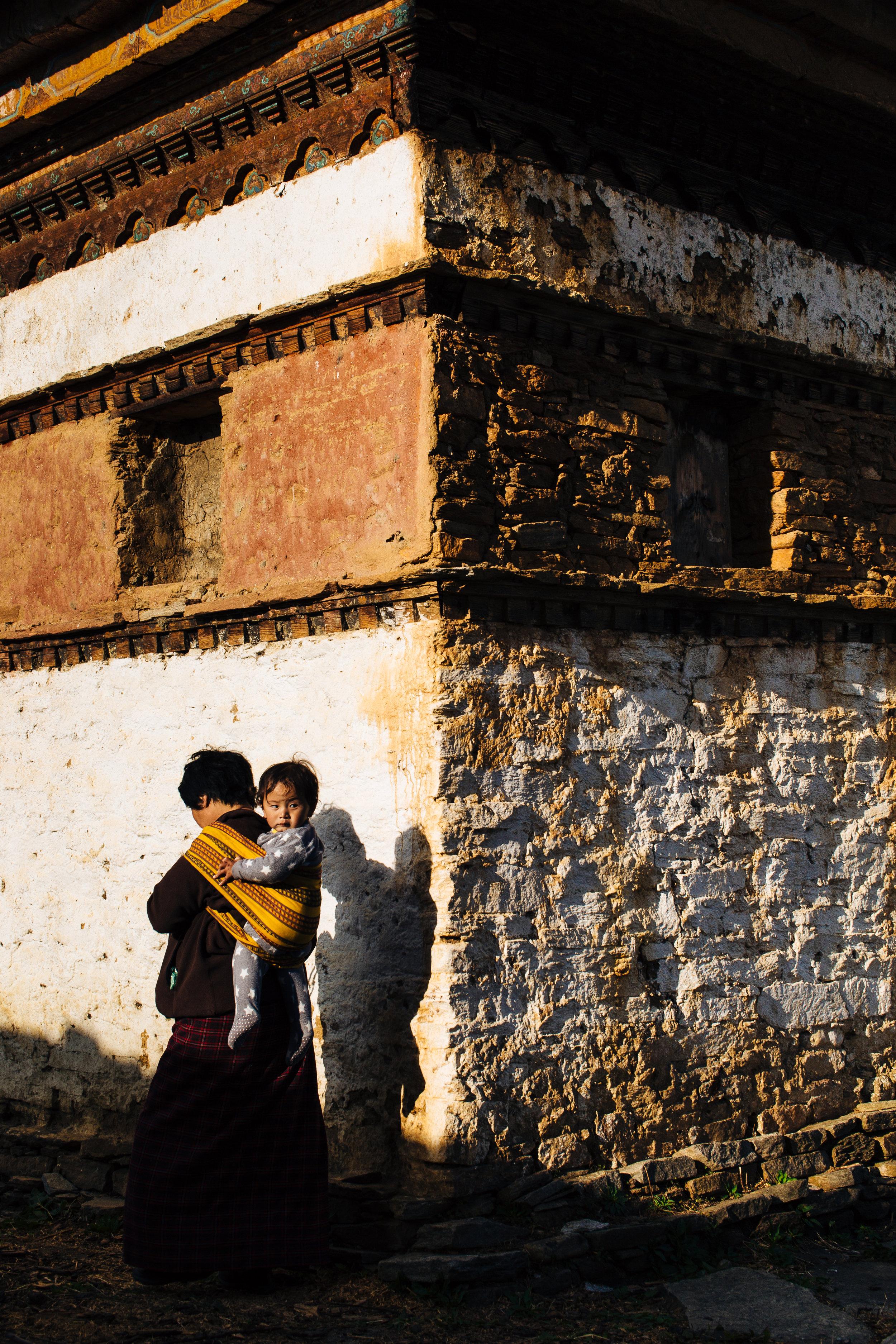 Tshering baby ride
