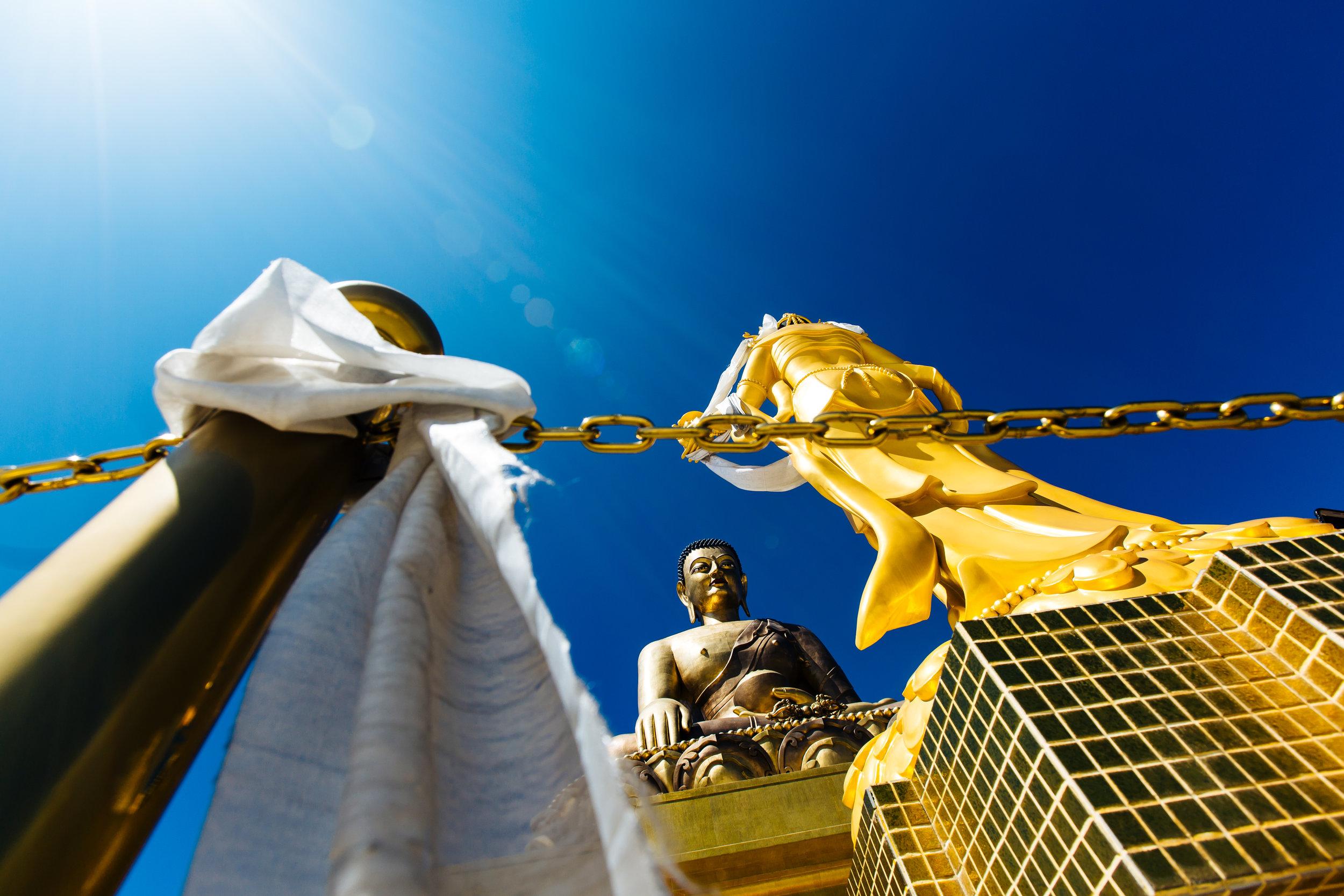 Giant buddha Thimpu