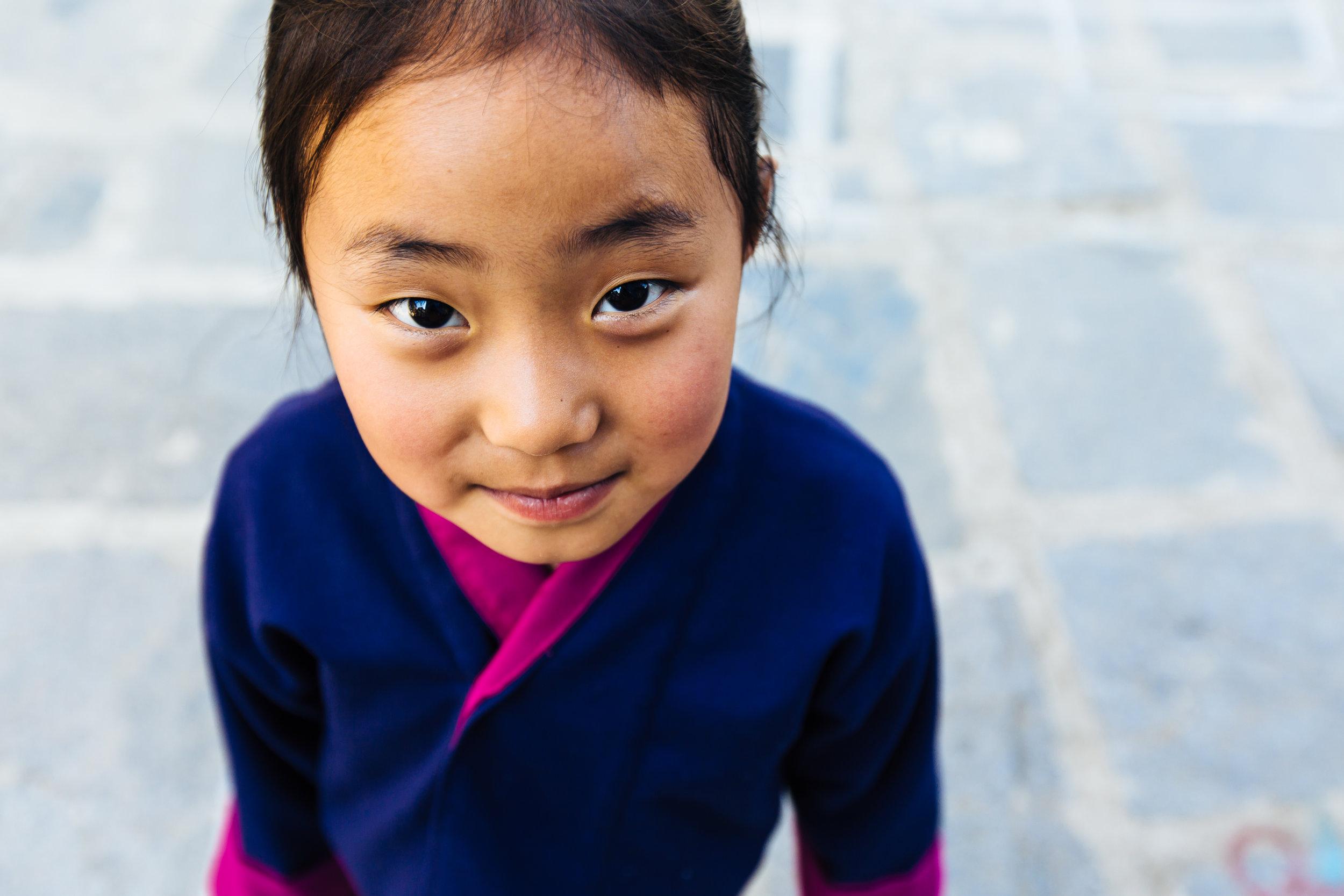 Bhutanese student