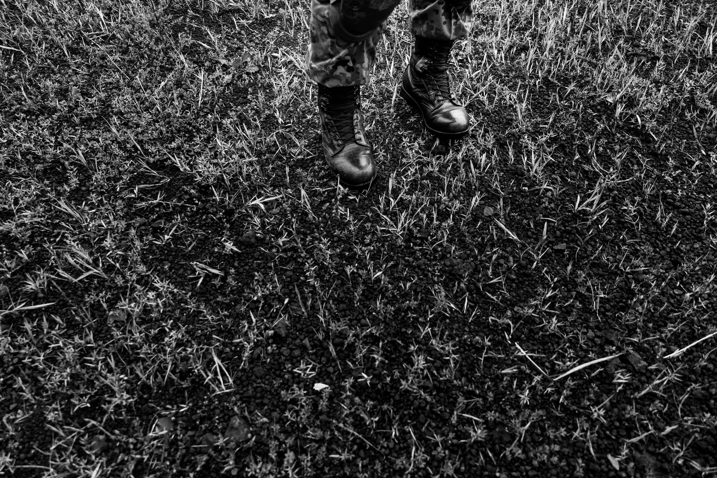 army-feet