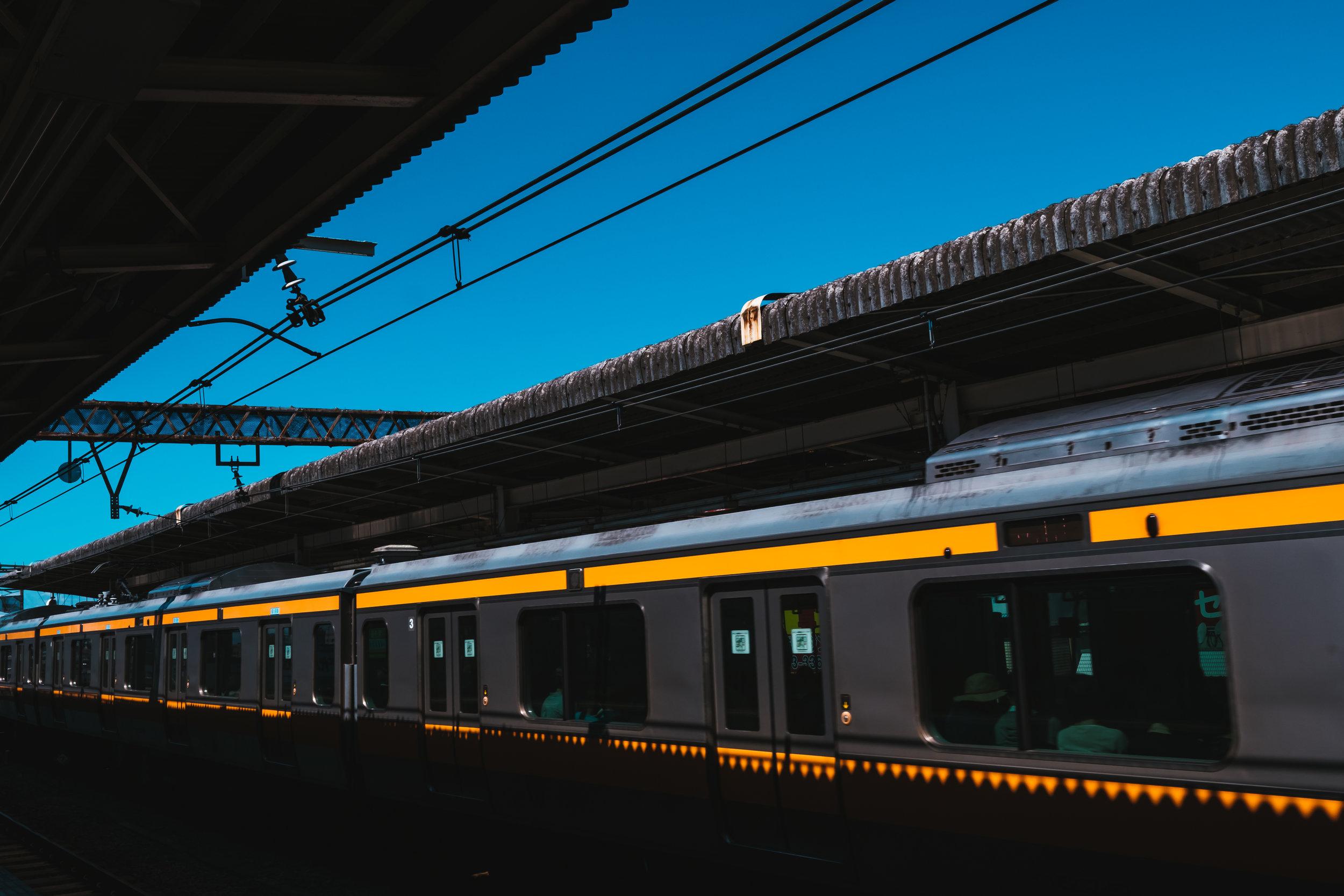 Chuo line at Nakano