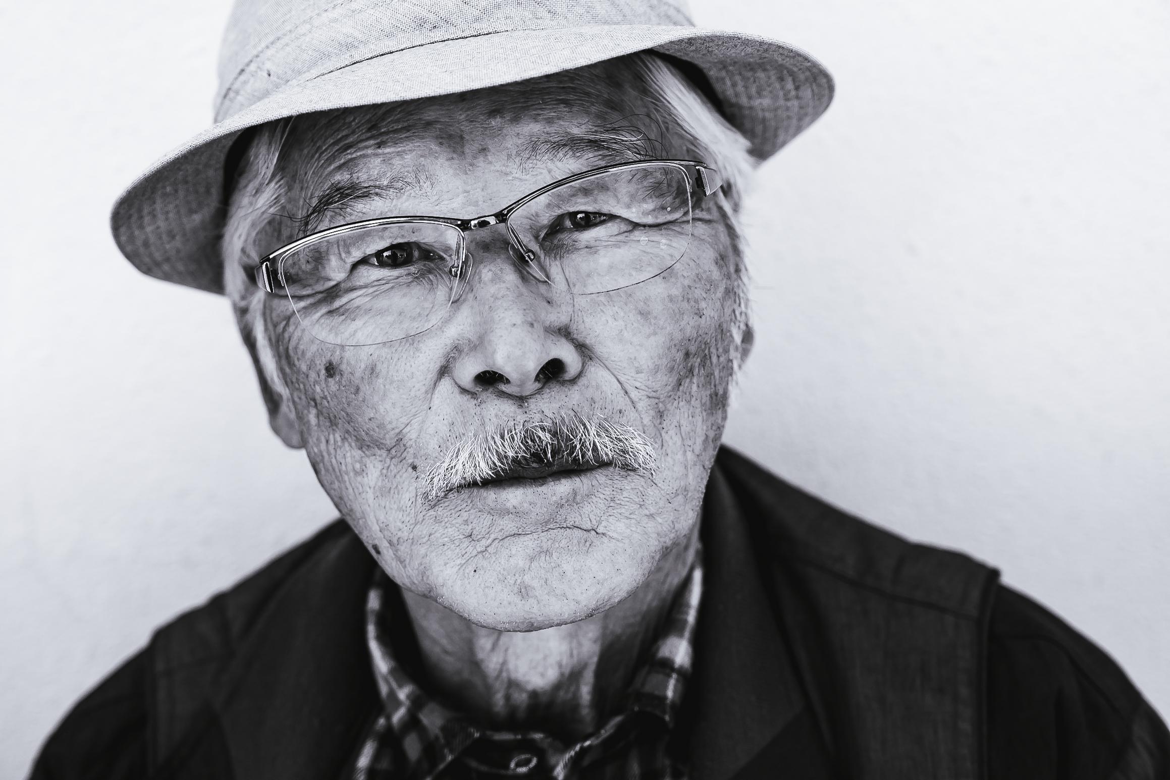 Tokyo old man