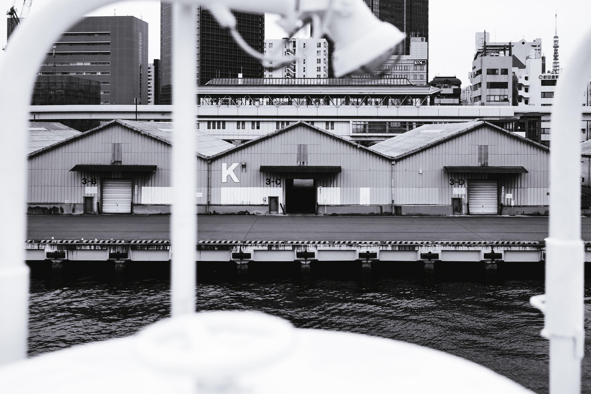 Tokyo Bay wharf