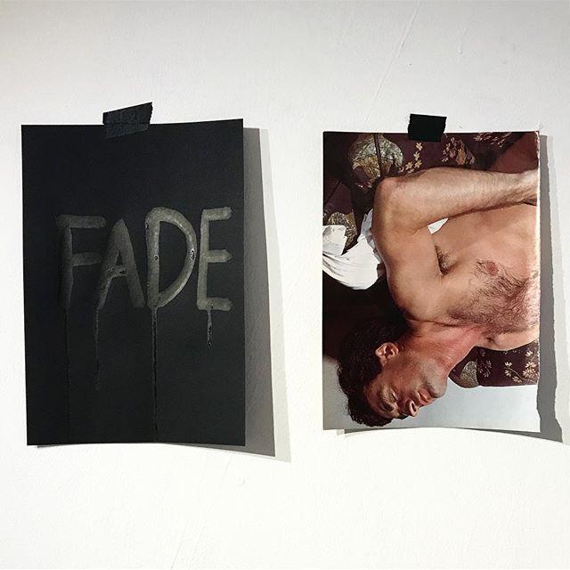 Fade. . . . #queer #artyyc #gayart #queerart #gay #foundmaterial #textart