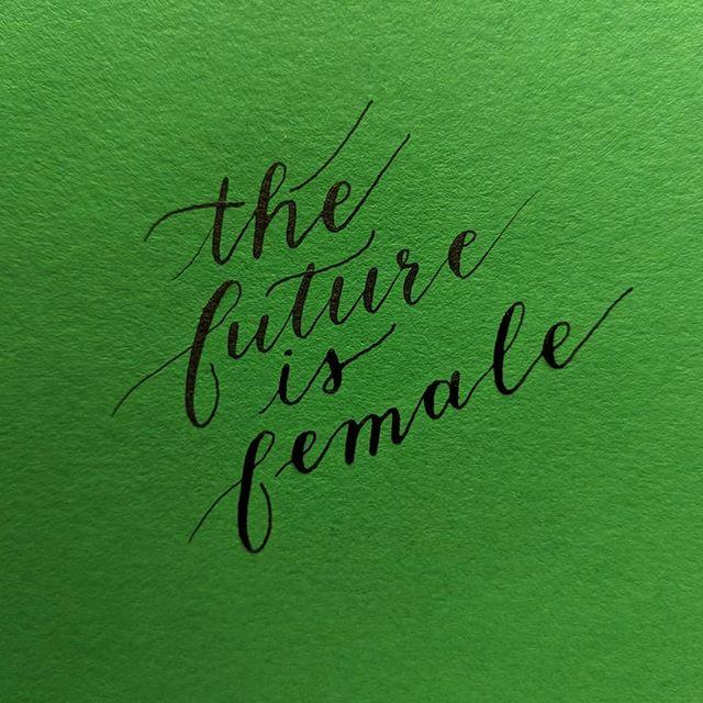 Who run the world? 👩👩🏻👩🏼👩🏽👩🏾👩🏿 #calligraphy #calligrapher #calligrafia #calligram #type #typer #typography #typographia #typegang #typespire #typespiration #typetherapy #50words #girls #thefutureisfemale #female #whoruntheworld #whoruntheworldgirls