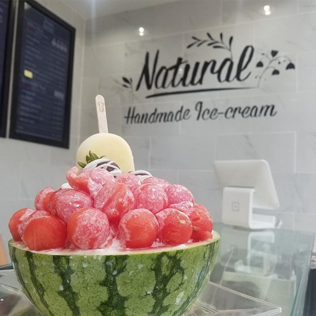 .Happy Saturday!Make a plan to stop in this weekend for your own joyfully sweet experience!#Shaved_Milk_Ice#Handmade_Ice_cream..