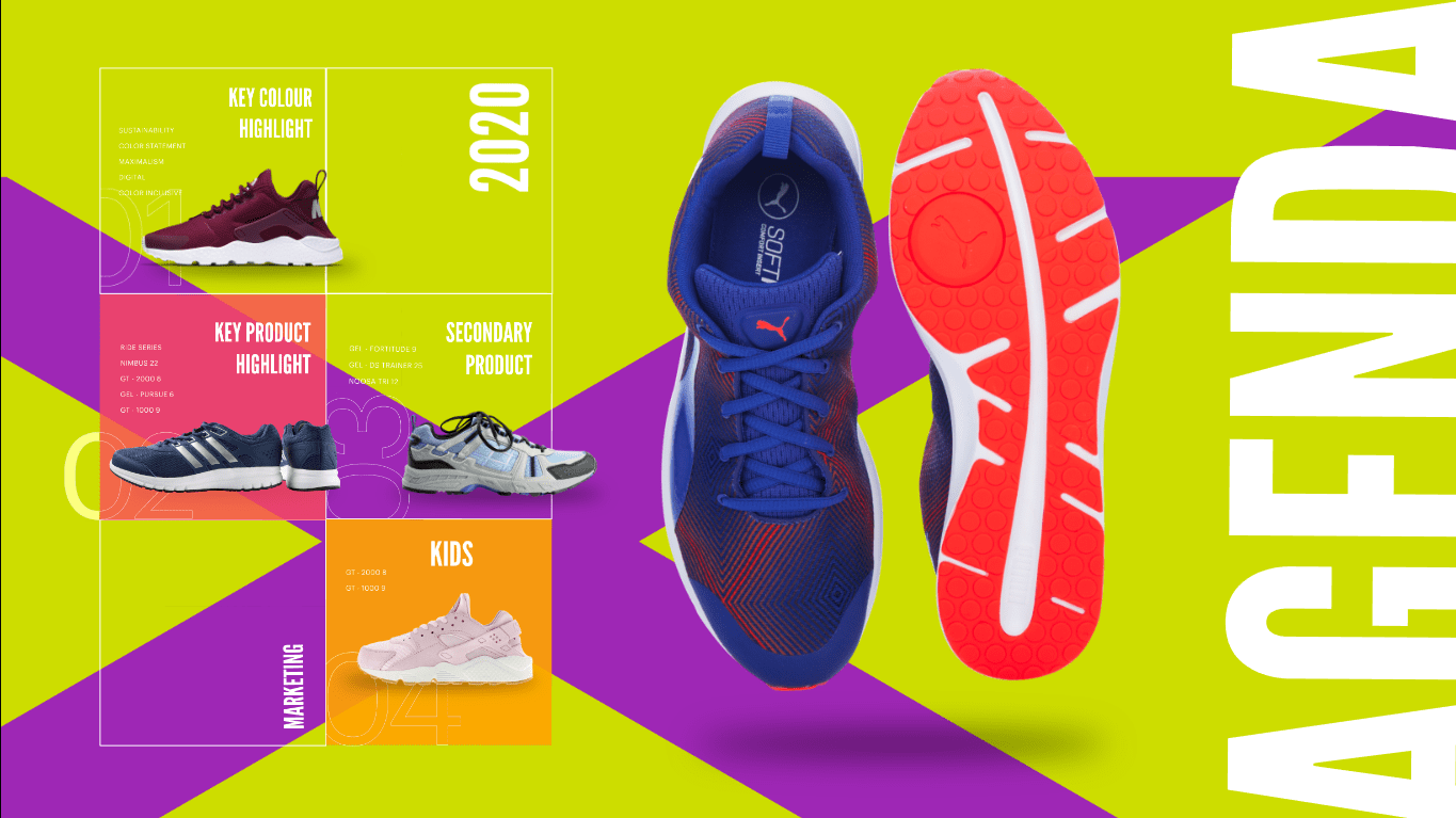 Running Shoes Product Catalogue