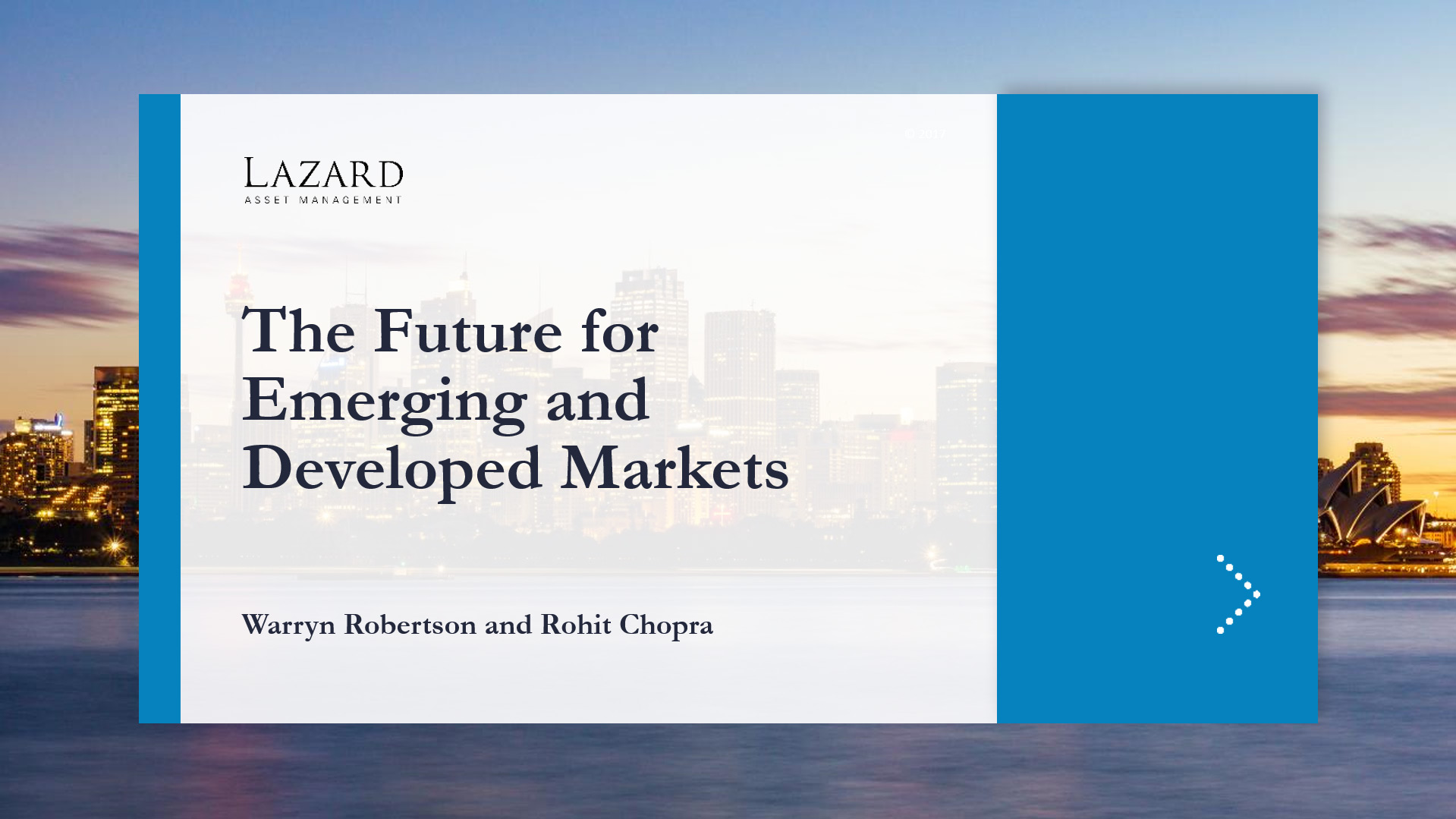 Lazard (Global Investor Forum)