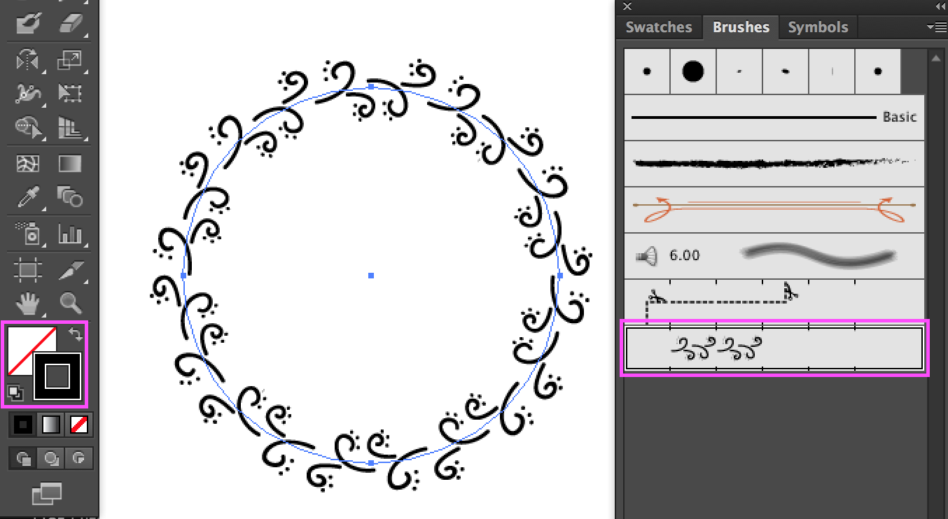 Make a wreath in Illustrator 8.png