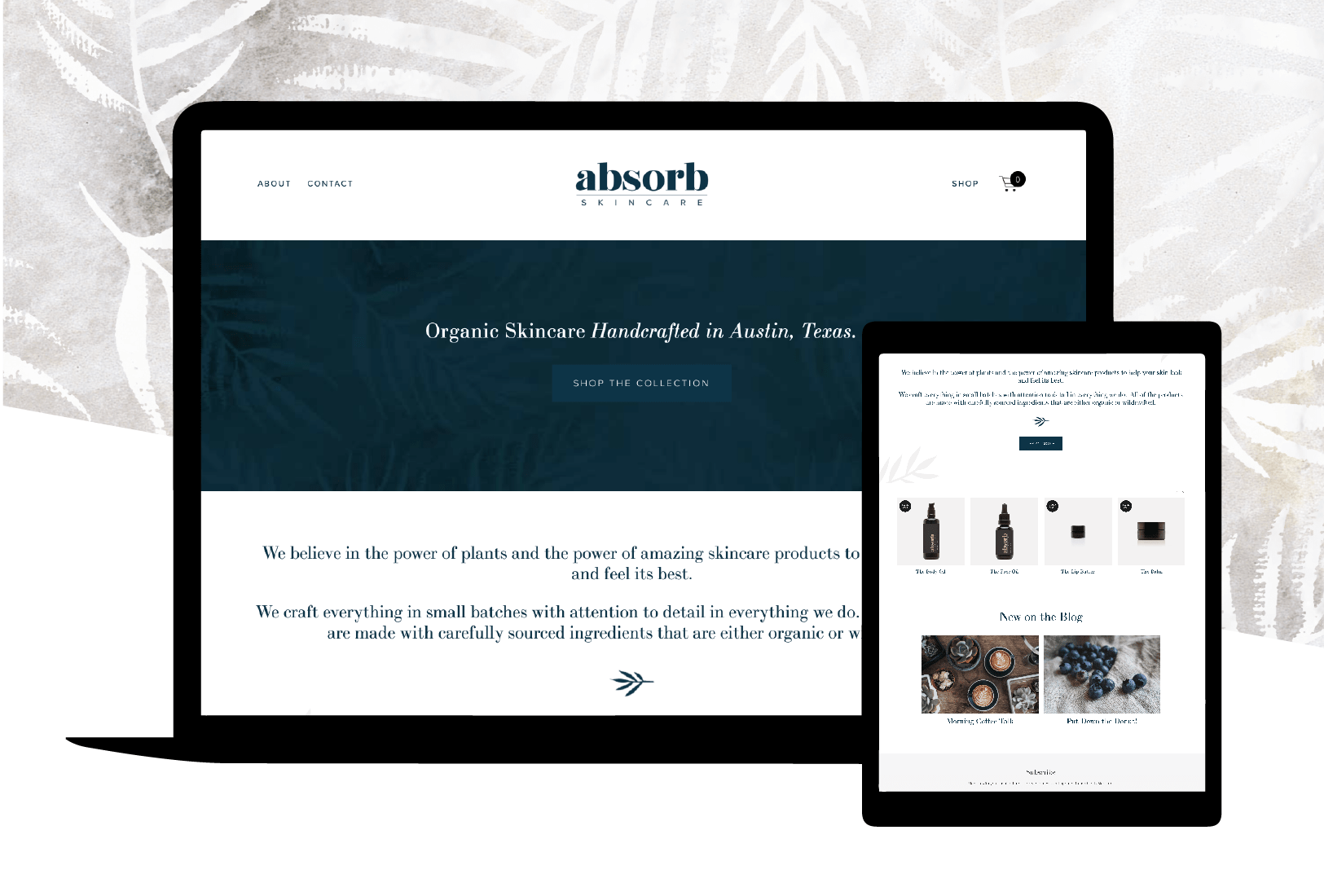Absorb Skincare Squarespace Website Design.png