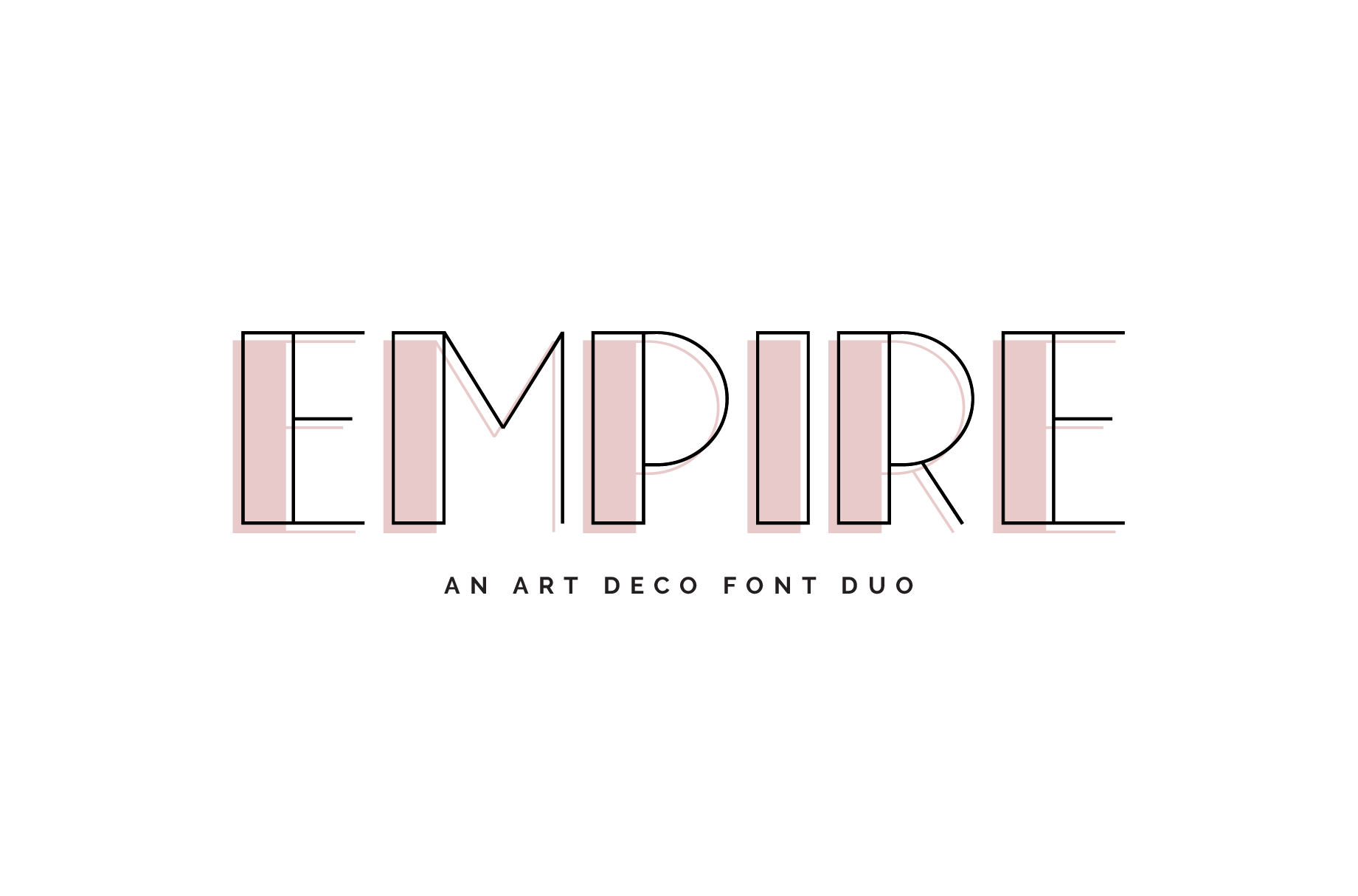Empire Font Duo by Big Cat Creative