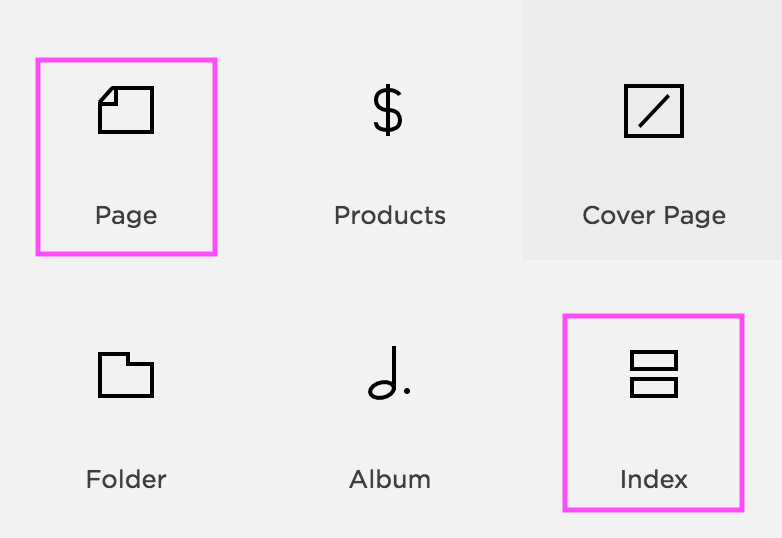 How to create jump-to links in Squarespace