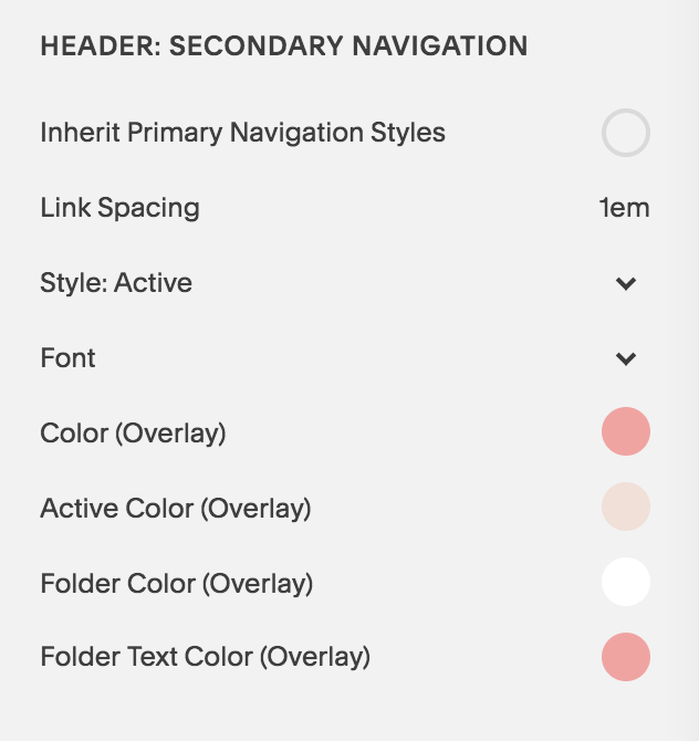Brine is the Best Squarespace Template - An example of the advanced Manu Navigation Settings - Secondary navigation.png