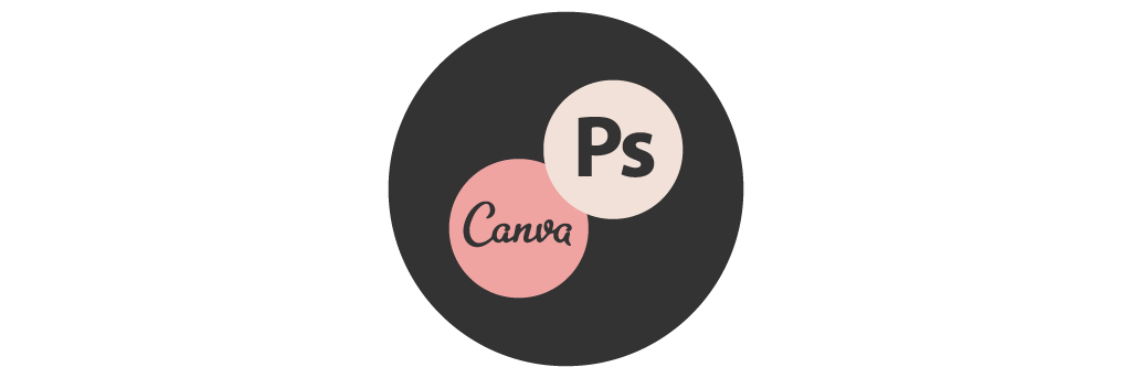 Photoshop + CanvaTemplate Graphics - Each template comes with a bundle of graphics for you to make your own, in Canva or Photoshop format!
