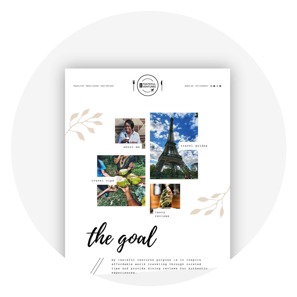 Squarespace Template Kit Showcase and Testimonial - Paradiso Template