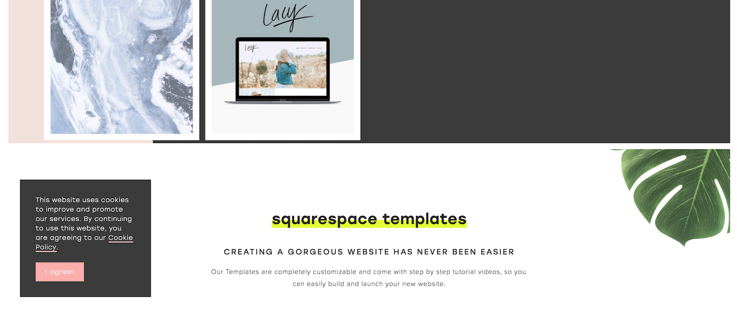095d27ddcc2e2 How to Customize Your Squarespace Cookie Banner Design (Copy + Paste ...