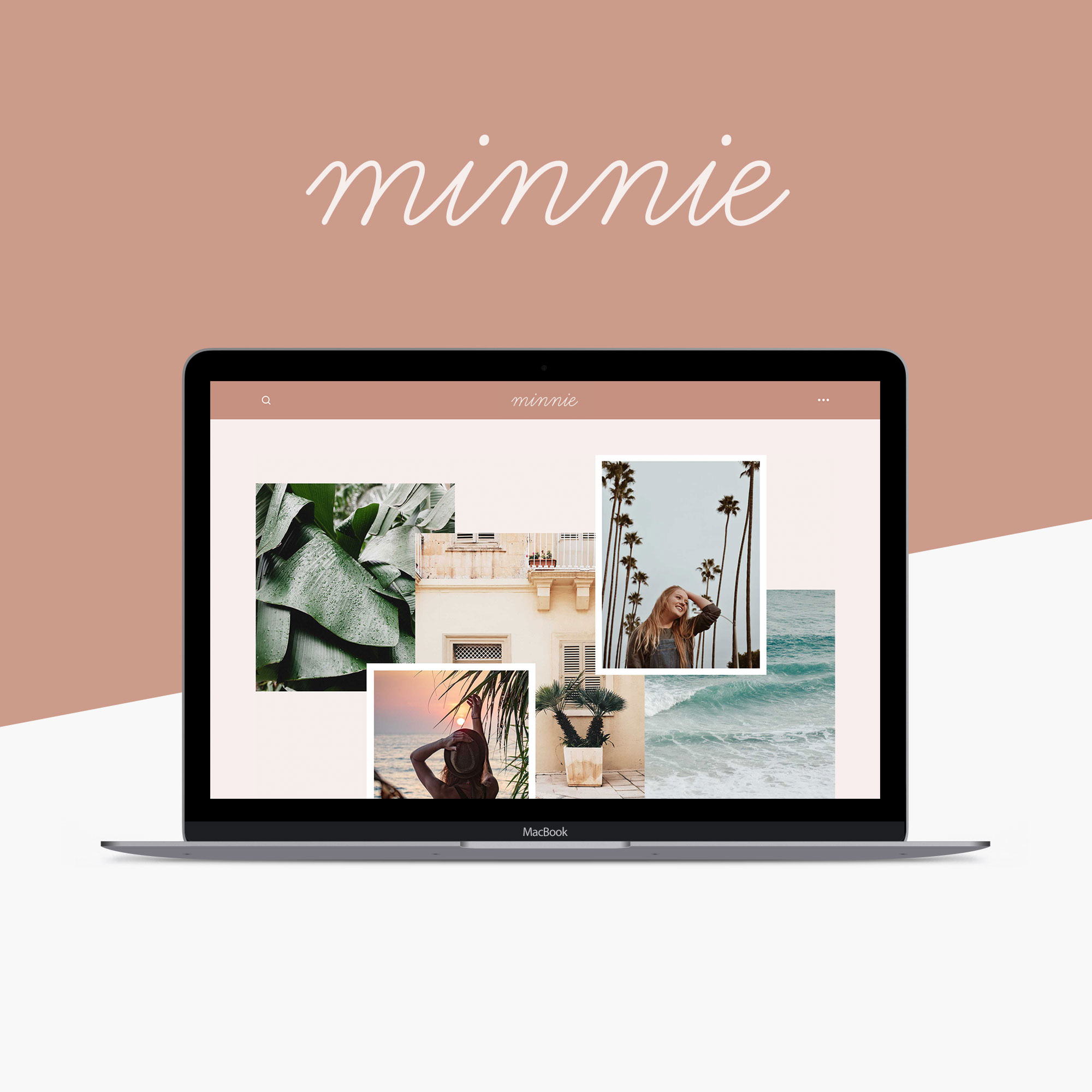 Minnie Squarespace Template Kit by Big Cat Creative