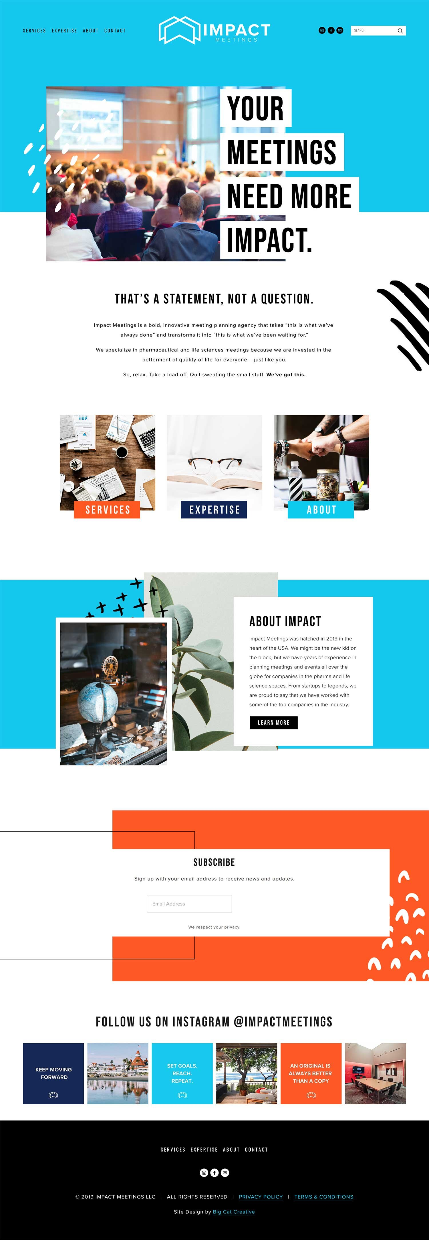 Tigress Squarespace Template Kit Big Cat Creative