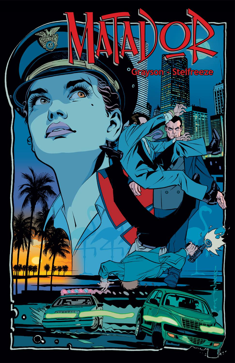 MATADOR - Vol. 1 TP Cover