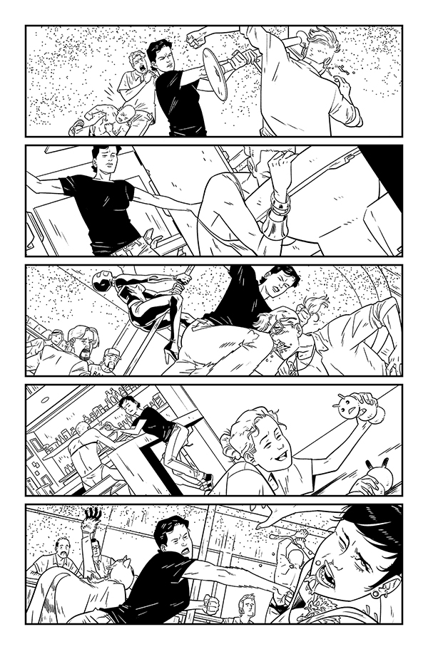 Daniel Hillyard's inks for THE RIDE: BURNING DESIRE #2, page 6