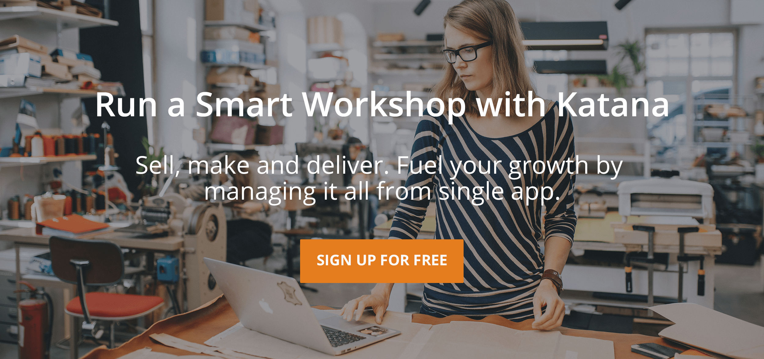 Raw materials inventory management software. Run a Smart Workshop with Katana.