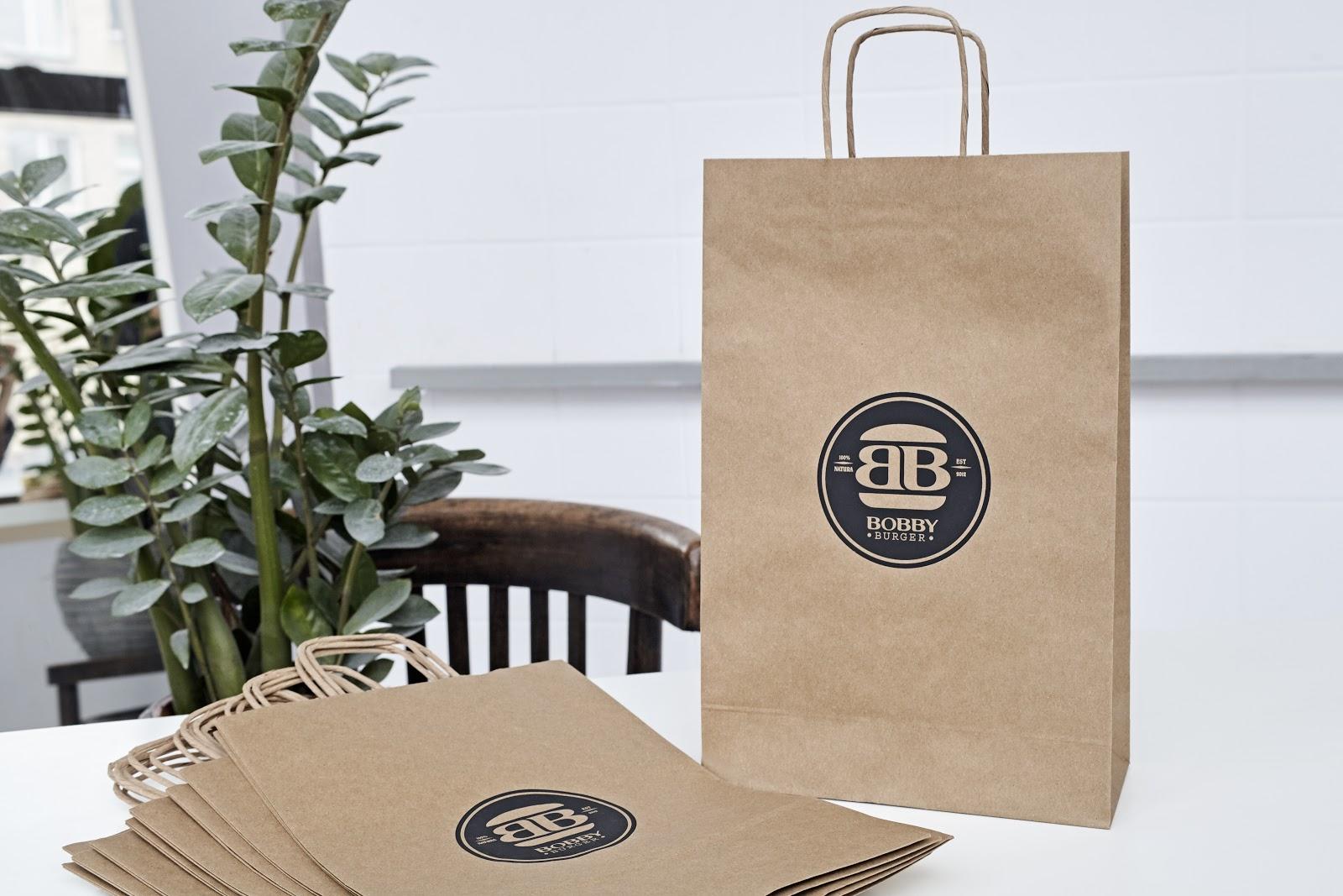 handmade packaging paper bag