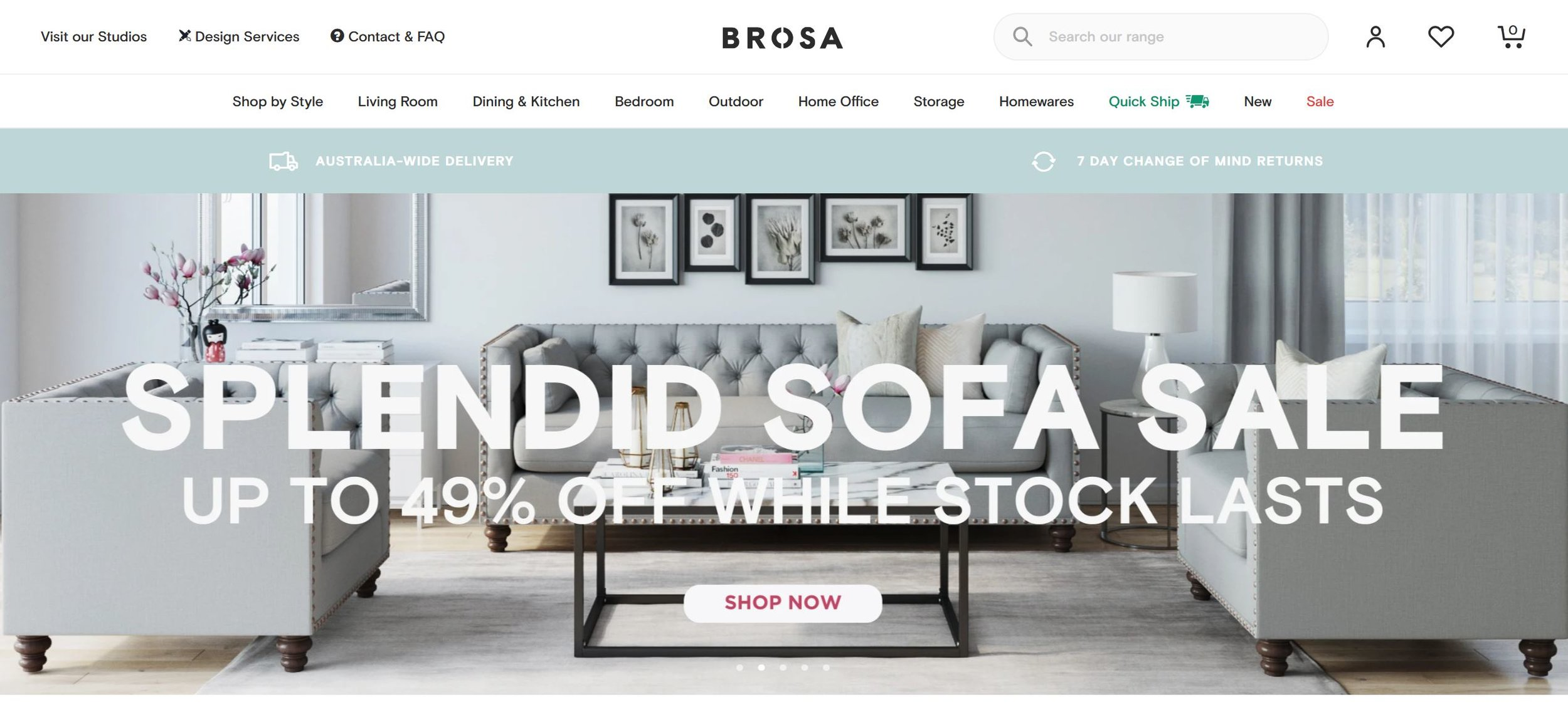 best Shopify furniture stores disrupt the traditional business structure.