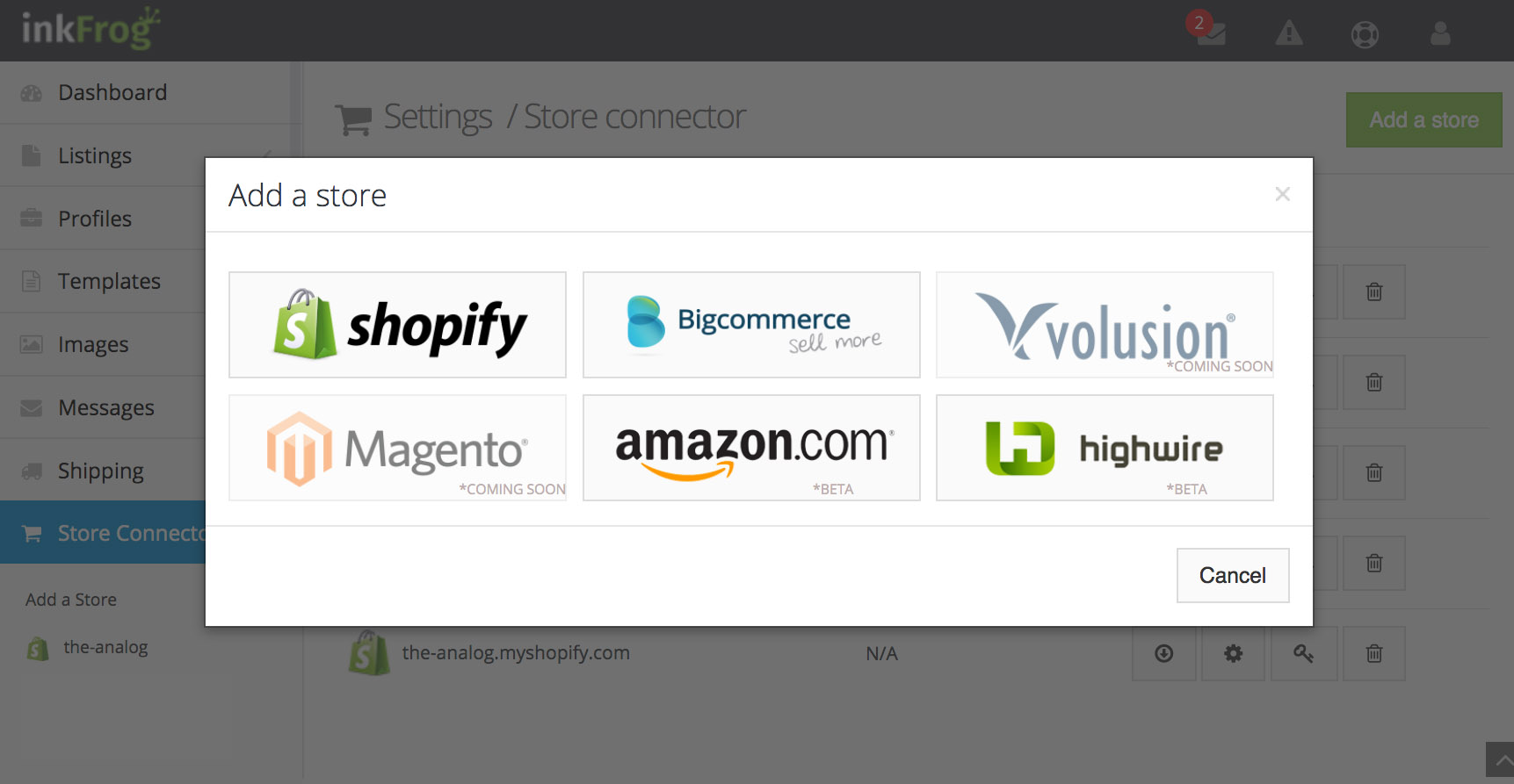 With the right tools, you'll be able to turn the work that you do on your Shopify store into sales on other platforms as well.