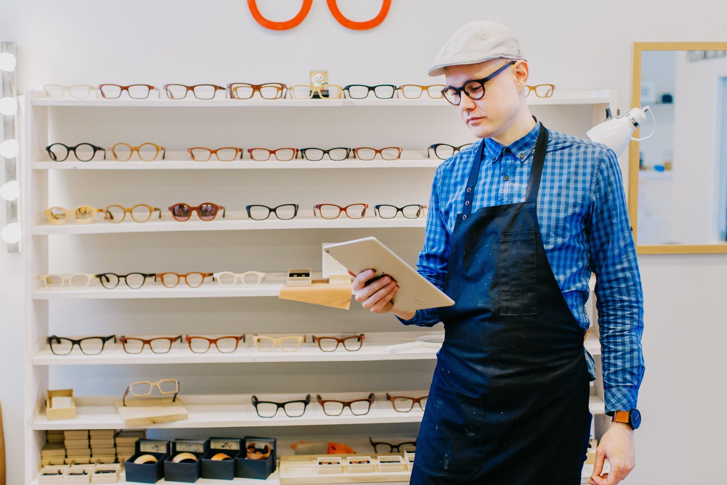 """Product making businesses like the guys at """"Framed"""" need to make sure their order fill rates are as high as possible. Their brand's success is tied to how reliable they are in delivering to customers."""
